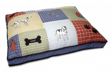 PETMATE Pet Bedding Quilted Classic Dog Applique