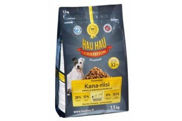 Hau-Hau Champion Chicken- Rice Small dog 1.5 кг