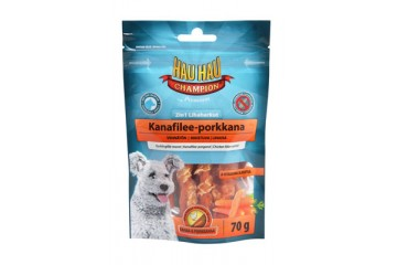 Hau-Hau 2in1 Chicken-carrot 70 g